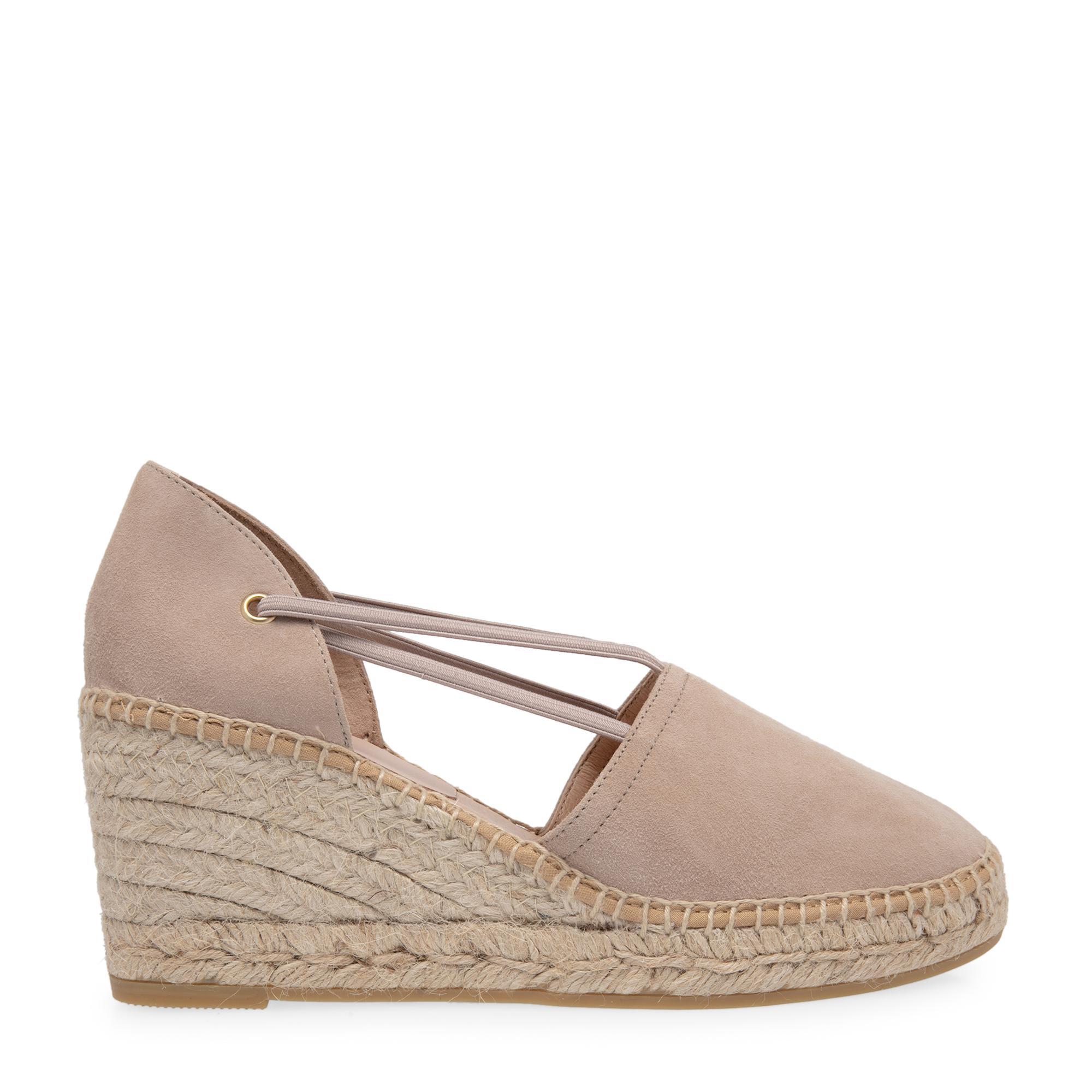 """حذاء اسپادريل """"آنتي"""" بكعب متصل"""