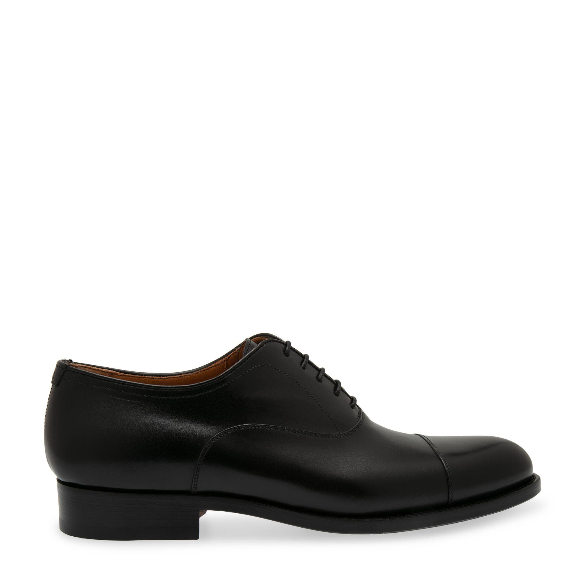 حذاء جلدي بالأربطة بطراز أكسفورد