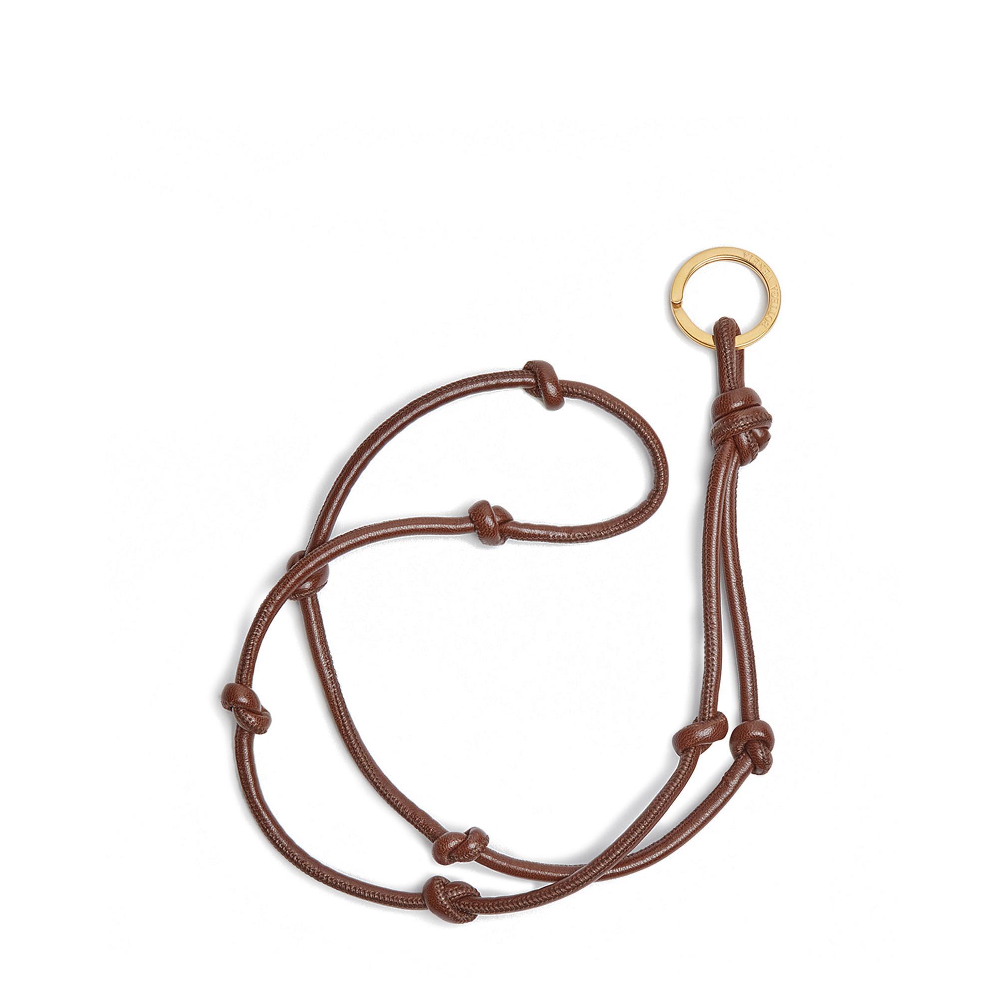 حلقة مفاتيح بتصميم حبل