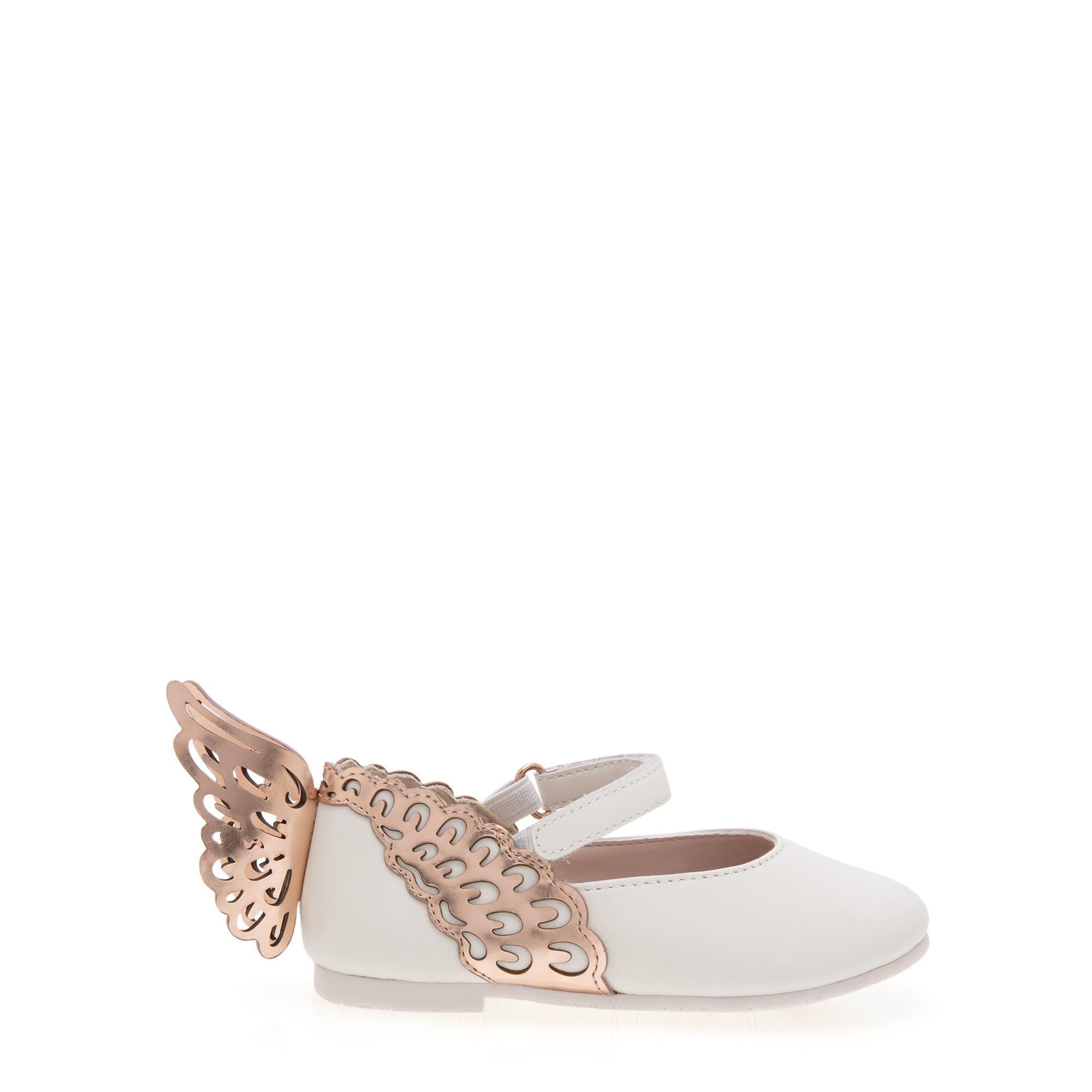 """حذاء الباليه المسطح """"إيفانجيلاين"""""""