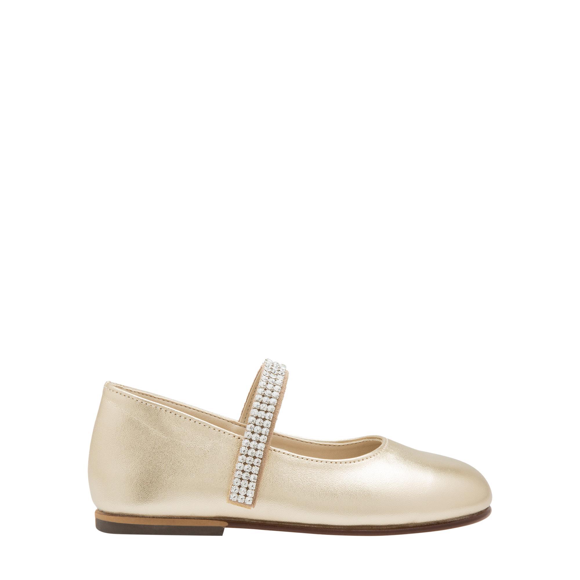 حذاء باليرينا جلدي