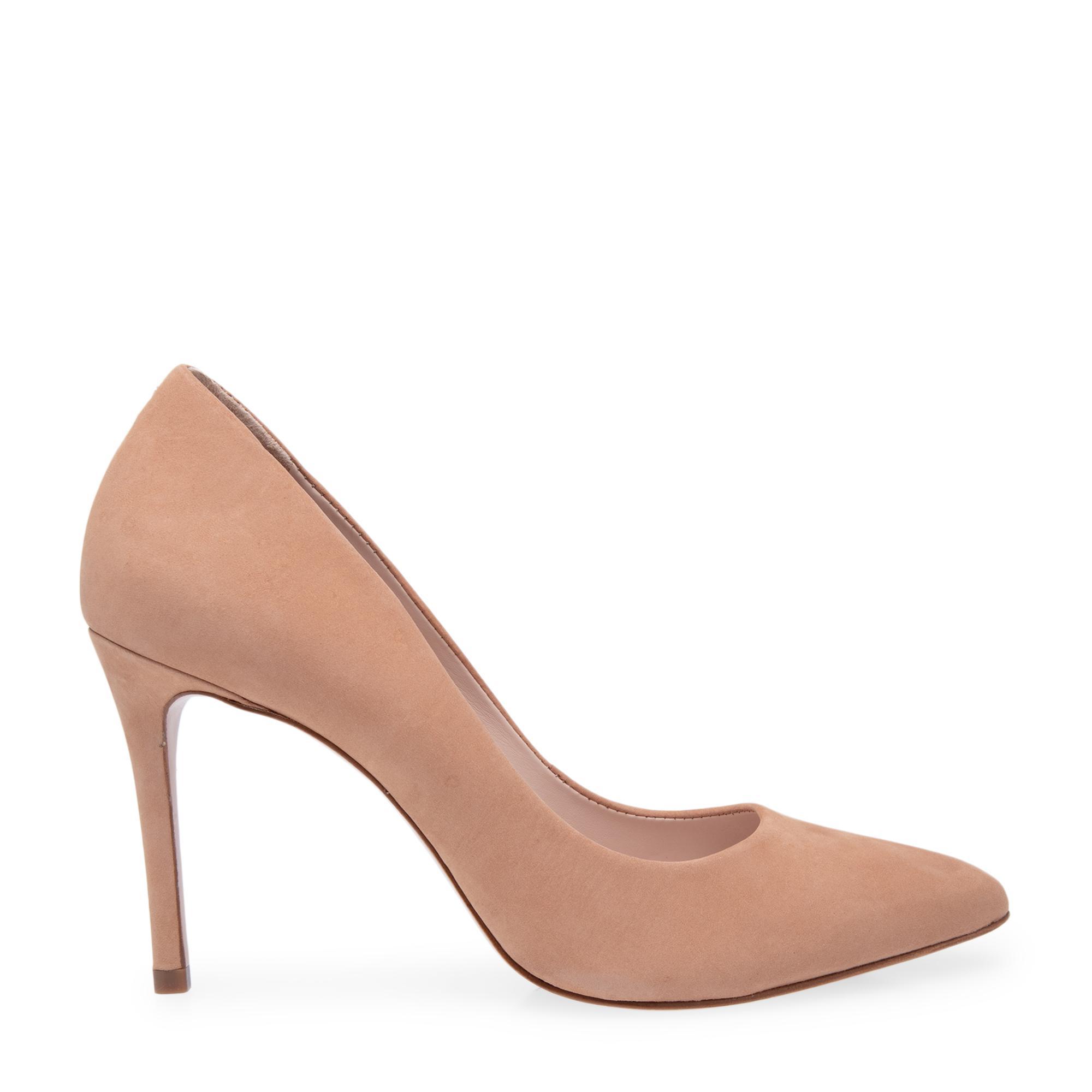 حذاء عالٍ من الشامواه