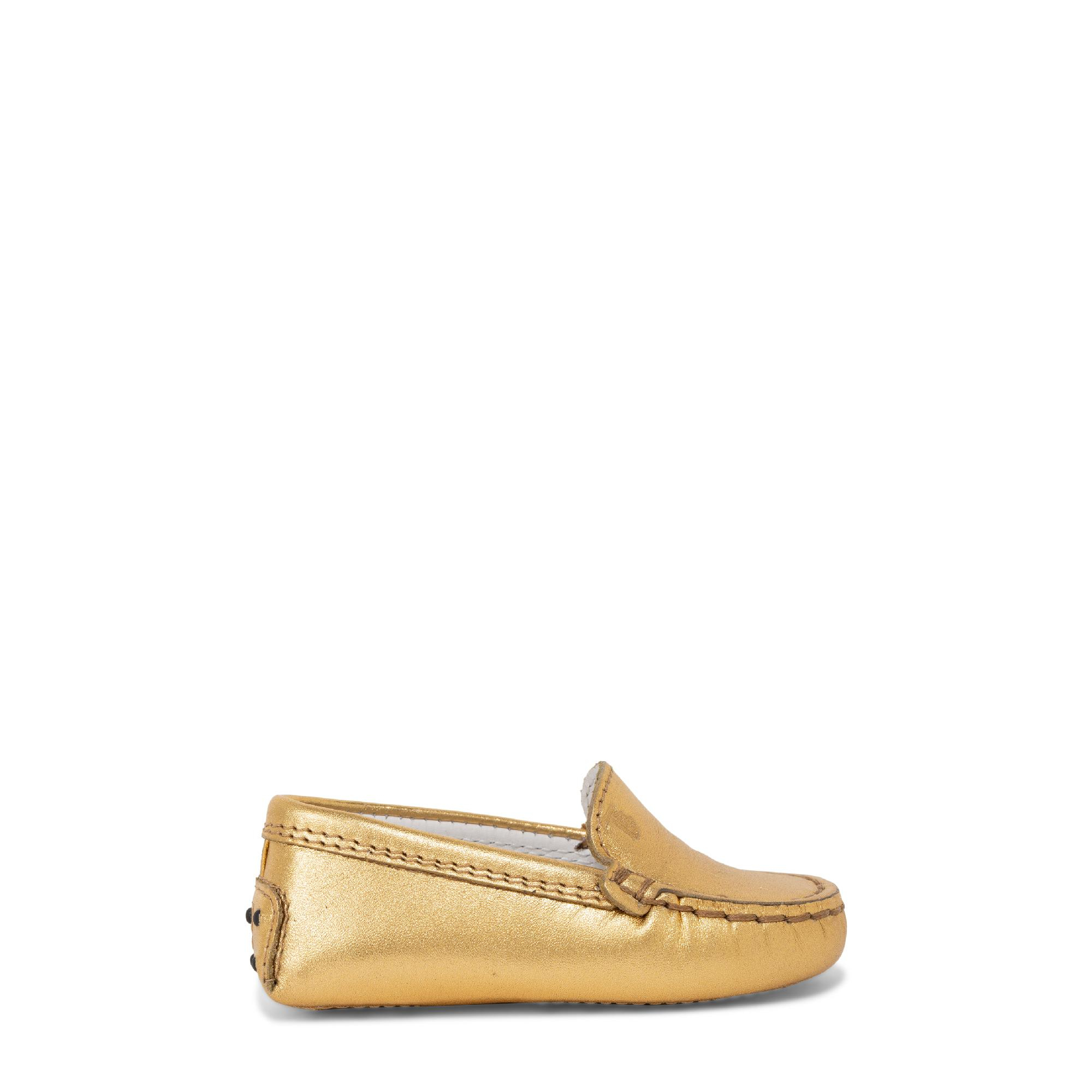 """حذاء """"غوميني"""" الجلدي المسطح"""